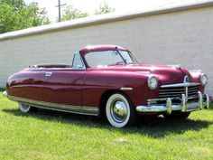 1949 hudson super six convertible Maintenance of old vehicles: the material for…