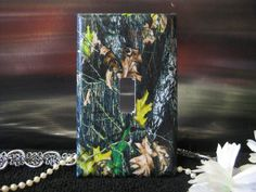 Camo Camouflage Light Switch Wall Plate by SerendipityzBoutique