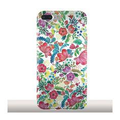 Fleurs Vintage - Coque iPhone 7 Plus par Audrey Collomb en silicone - Kinghousse #iphonecase #phonecases #iphone7pluscase #floraldesign