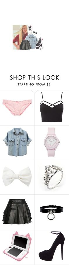 """""""ootd"""" by l0st-demig0ds ❤ liked on Polyvore featuring beauty, Charlotte Russe, Juicy Couture, Forever 21, Mairi Mcdonald, Giuseppe Zanotti and plus size clothing"""