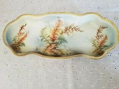 Find many great new & used options and get the best deals for Celery/bread Dish Fern Design Prussia Royal Rudolstadt at the best online prices at eBay! Free shipping for many products!