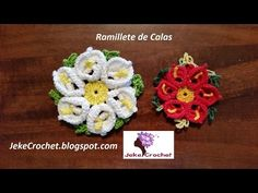Flor Boca de León - Crochet o Ganchillo - Paso a Paso - YouTube