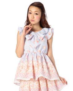 天使柄トップス 渋谷109で人気のガーリーファッション リズリサ公式通販