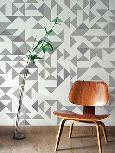 geometria-papel-pintado