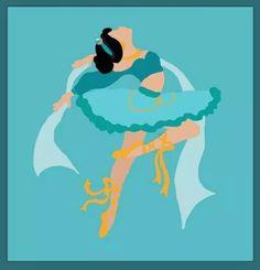 Princess ballerinas: Jasmine