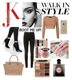 """Walk in Style, with Cheslea boots"" by faithywaffy on Polyvore featuring Ryder, J Brand, Charlotte Tilbury, Michael Kors, Stila, Yves Saint Laurent and Speck"