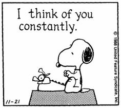 Snoopy- Ti penso costantemente.