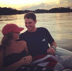 Boat ride at sunset