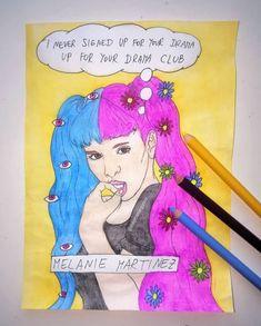 Melanie Martinez, Madonna, Singers, Appreciation, Drama, Fan Art, Comics, Painting, Character