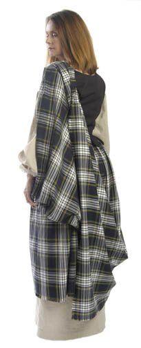 Scottish Clothing for Ladies - Kilt and Scottish Clothing Maker Scottish Women, Scottish Fashion, Arisaid, Celtic Clothing, Renaissance Clothing, Scottish Dress, Celtic Dress, Fashion And Beauty Tips, Period Outfit
