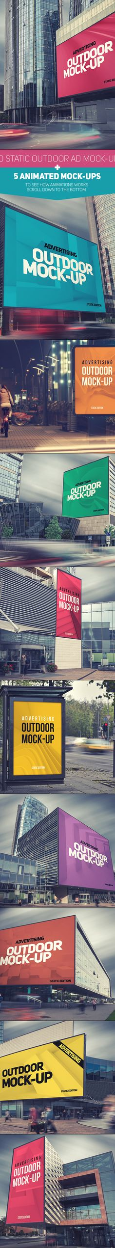 Outdoor AD Mock-Up on Behance