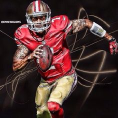 Definitely catching Colin Kaepernick and the 49ers game on Sunday. Git'er done!