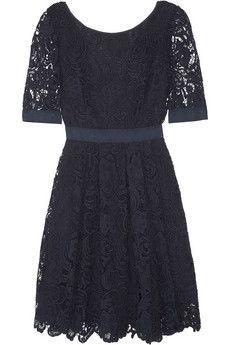 a lacy cotton evening dress is always in style #cotton24hours