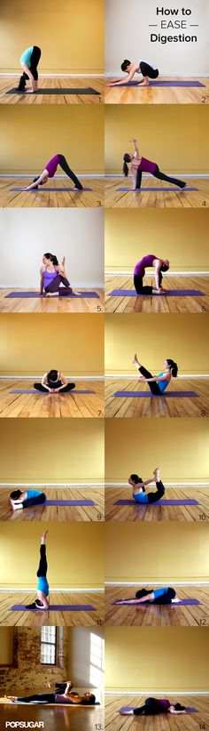 Poses to ease digestion