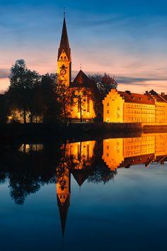 St. Mang Abbey, Kempten, Allgau, Bavaria, Germany
