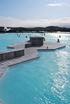 Blue Lagoon, Iceland - Just a 45-minute drive from Reykjavik the lunar landscape of the Blue Lagoon is Iceland's most famous attraction. Don't miss a soak in these milky, mineral-rich waters heated from deep within the earth.