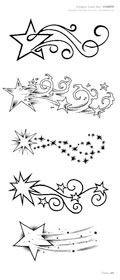 comet tattoo idea