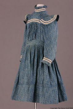 Girl's dress, 1900-1915, United States.