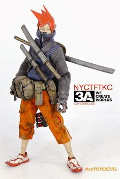 TOYSREVIL: TK Cornelius by 3A Toys for New York Toy Fair 2014?