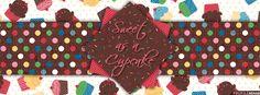 Sweet as a Cupcake Facebook Cover