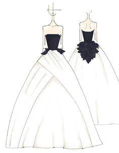 Vera Wang Bridal Illustration