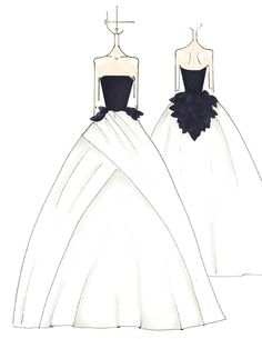 Vera Wang Bridal Illustration