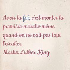 Citation de Martin Luther King (1929 - 1968)                                                                                                                                                     Plus