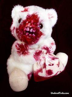 UNDEAD TEDS – HORRIBLE ZOMBIES TEDDY BEARS…
