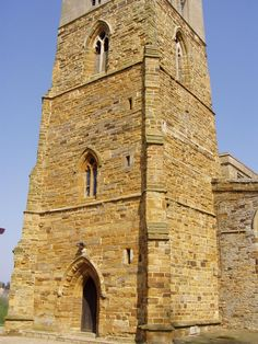 Moulton Church Tower Photo, Northamptonshire, England: #churchesinengland #britishchurches #churches #churchtowers #villagechurch