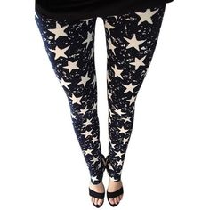 Fashion Muti-styles Black Floral smooth as silk Jeggins