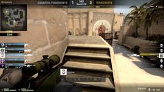 Random AWP ace (low rank) with decent enemy position anticipation