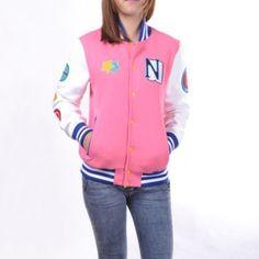 Anime Free! pink baseball uniform for girls cosplay Hazuki Nagisa sweatshirt for spring
