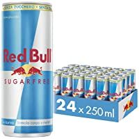 Red Bull Energy Drink Sugar Free 24 Pack of 250 ml Food-Drinks Ingredients Supplies Toppers Household-Personal Care Minerals-Supplements Supplements Food-Drinks Sugar Free Energy Drinks, Healthy Energy Drinks, Red Bull Drinks, Bad Room Ideas, Palette, Mountain Dew, Good Energy, Icing Decorations, Camp Jupiter