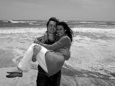 jonathan and lea at the #beach #loveit