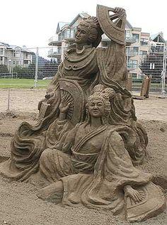 2011 oregon sand castle competition pictures - Google Search