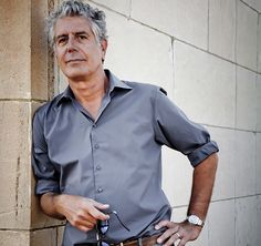 Anthony Bourdain, American chef, author, tv personality