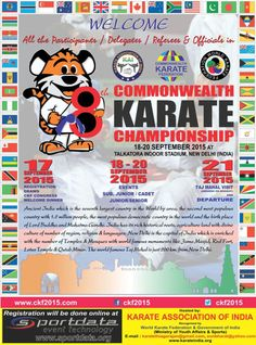 Commonwealth Karate Championships 2015 final results | Emilio Merayo