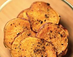 sweet potato chips yeah...