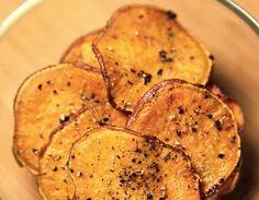 sweet potato chips yeah...