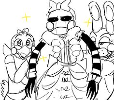 Chicka and Bonnie:we cant make you as fabulous as we are,but can teach you how to be more fab then you currently are. xD