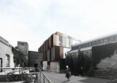 Hout Architecture Inc. Morrow Avenue Gallery. Location: Toronto, Canada  Type: Cultural  Size: 4200 sq.m, Client: Private  Status: Concept