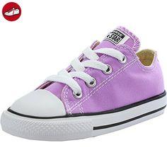 Converse Chuck Taylor All Star Infant Fuchsia Glow Textile 19 EU - Kinder sneaker und lauflernschuhe (*Partner-Link)