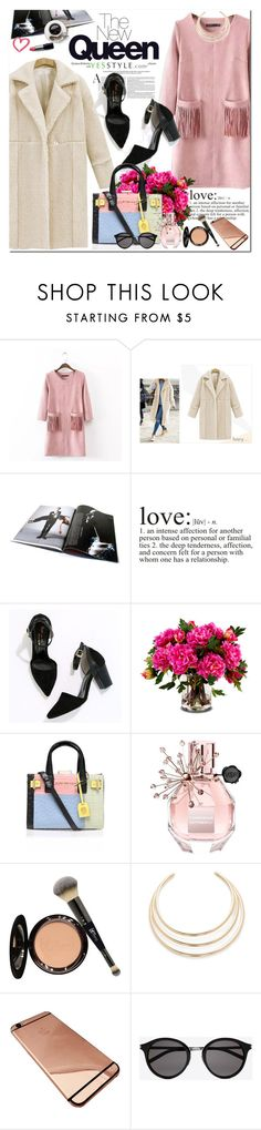"""""""Valentines' day - YesStyle"""" by oshint ❤ liked on Polyvore featuring Chicsense, Coronini, Cherryville, New Growth Designs, Kurt Geiger, Viktor & Rolf, It Cosmetics, Kenneth Jay Lane, Yves Saint Laurent and women's clothing"""