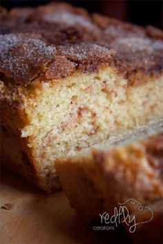 The Amazing Amish Cinnamon Bread Alternative.  No kneading, you just mix it up and bake it!
