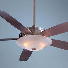 """54"""" Minka Aire Airus Brushed Nickel Ceiling Fan - #66050 