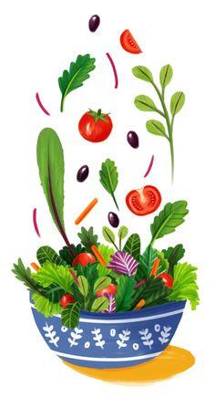 Mmmmm.  Salad. ~~ Houston Foodlovers Book Club