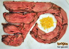 Philadelphia Flyers Roast Beef Logo....Mom- you should totally make this!