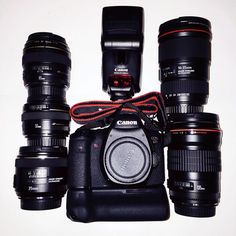 Canon family. Perfect gear for portrait photography. 6D, 16-35mm f4 IS, 35mm f2 IS, 50mm 1.4, 85mm 1.8, 135mm f2.8, Flash 430 EX II