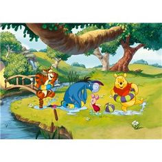 Fotomurales Infantiles de Disney, Winnie the Pooh