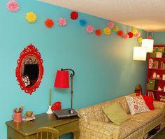 Colorful apartment!